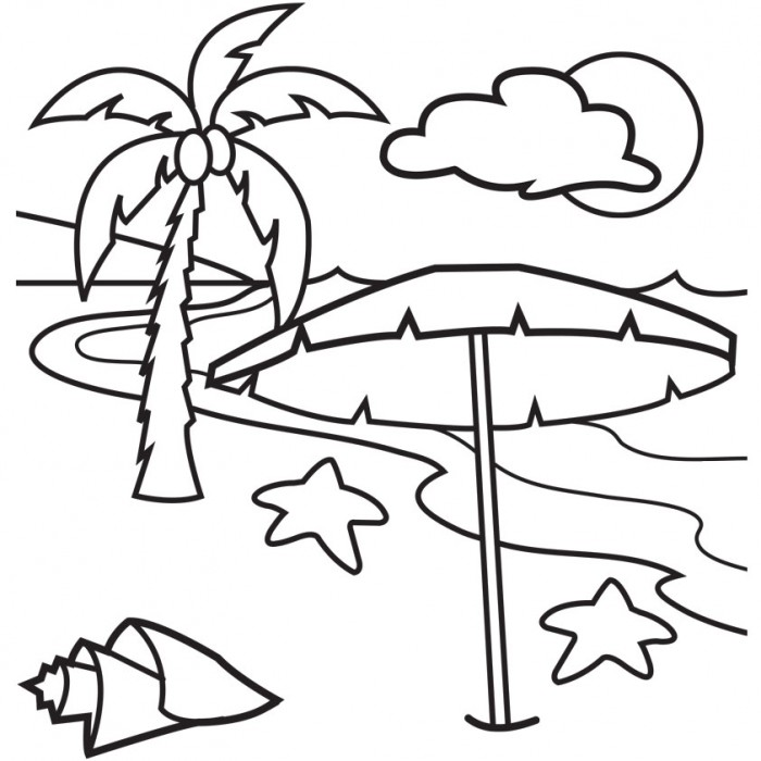 Palm Beach coloring #5, Download drawings