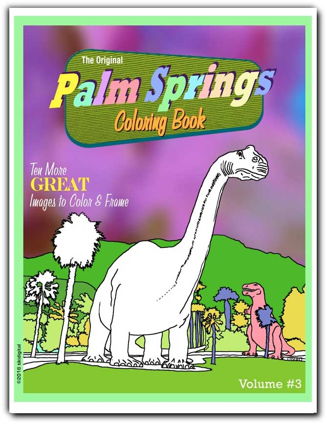 Palm Springs coloring #18, Download drawings
