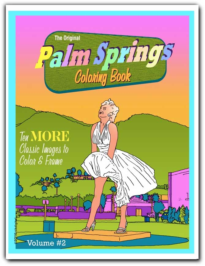Palm Springs coloring #19, Download drawings