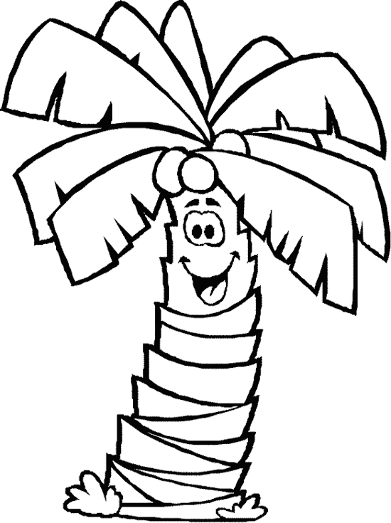 coloring pages palm - photo#24
