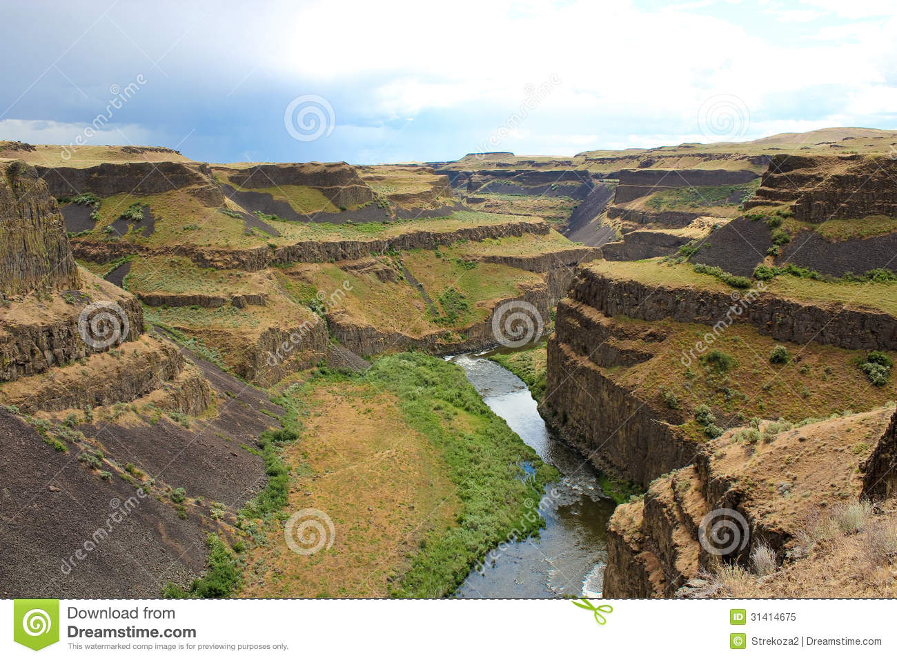 Palouse Canyon clipart #1, Download drawings