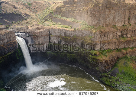 Palouse Falls clipart #1, Download drawings