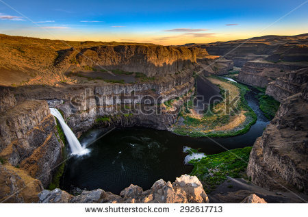 Palouse Falls clipart #11, Download drawings