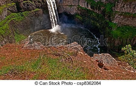 Palouse Falls clipart #7, Download drawings