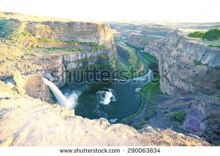 Palouse Falls clipart #3, Download drawings
