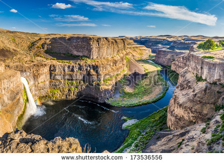 Palouse Falls clipart #5, Download drawings