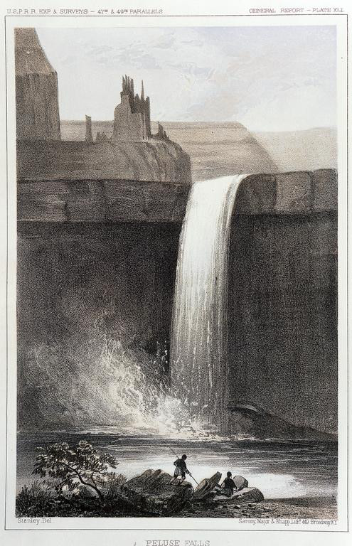 Palouse Falls coloring #5, Download drawings