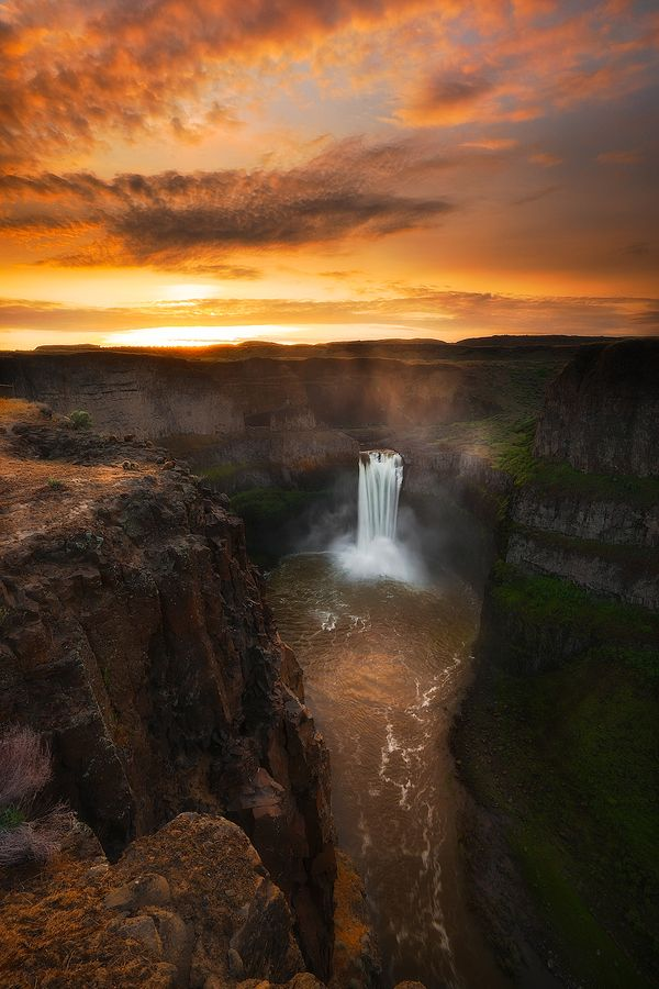 Palouse Falls State Park coloring #10, Download drawings