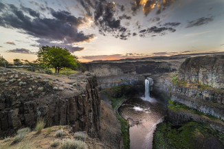 Palouse Falls State Park coloring #4, Download drawings