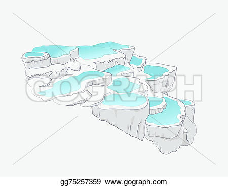 Pamukkale clipart #7, Download drawings