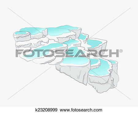 Pamukkale clipart #9, Download drawings