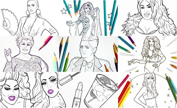 Panama Queen coloring #19, Download drawings