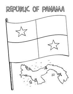 Panama Queen coloring #17, Download drawings