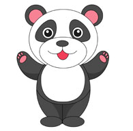 Panda clipart #8, Download drawings