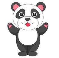 Panda clipart #13, Download drawings