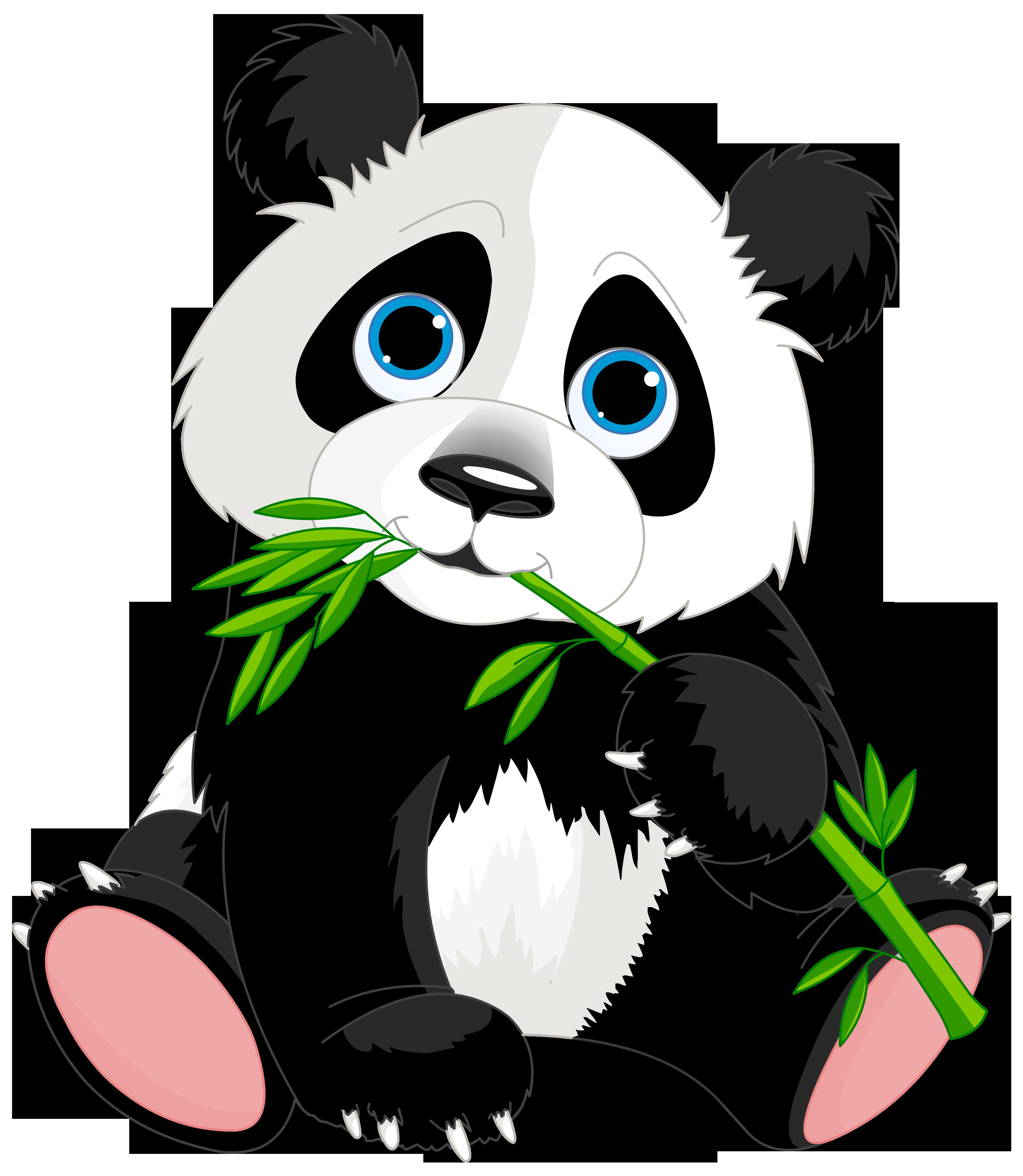 Panda clipart #2, Download drawings
