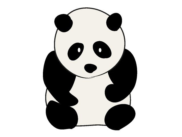 Panda clipart #16, Download drawings