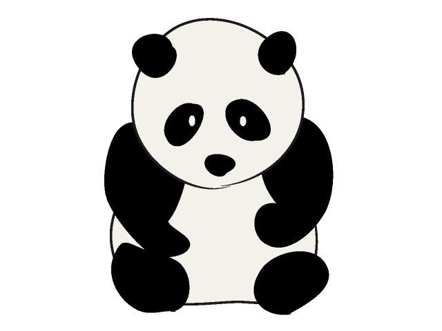Panda clipart #5, Download drawings