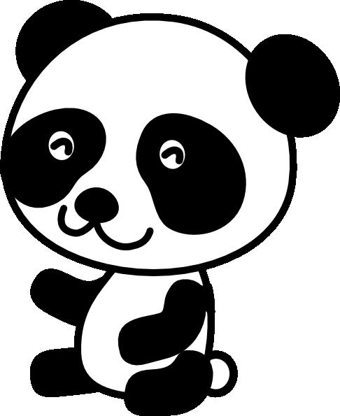 Panda clipart #6, Download drawings