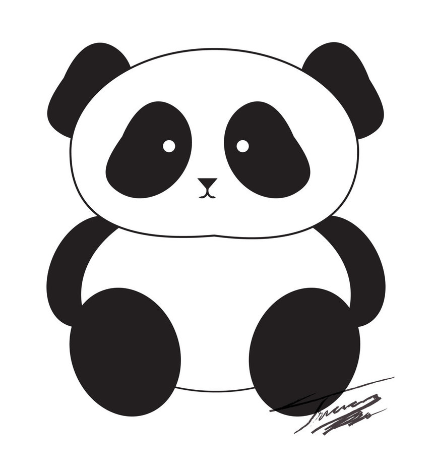 Panda clipart #18, Download drawings