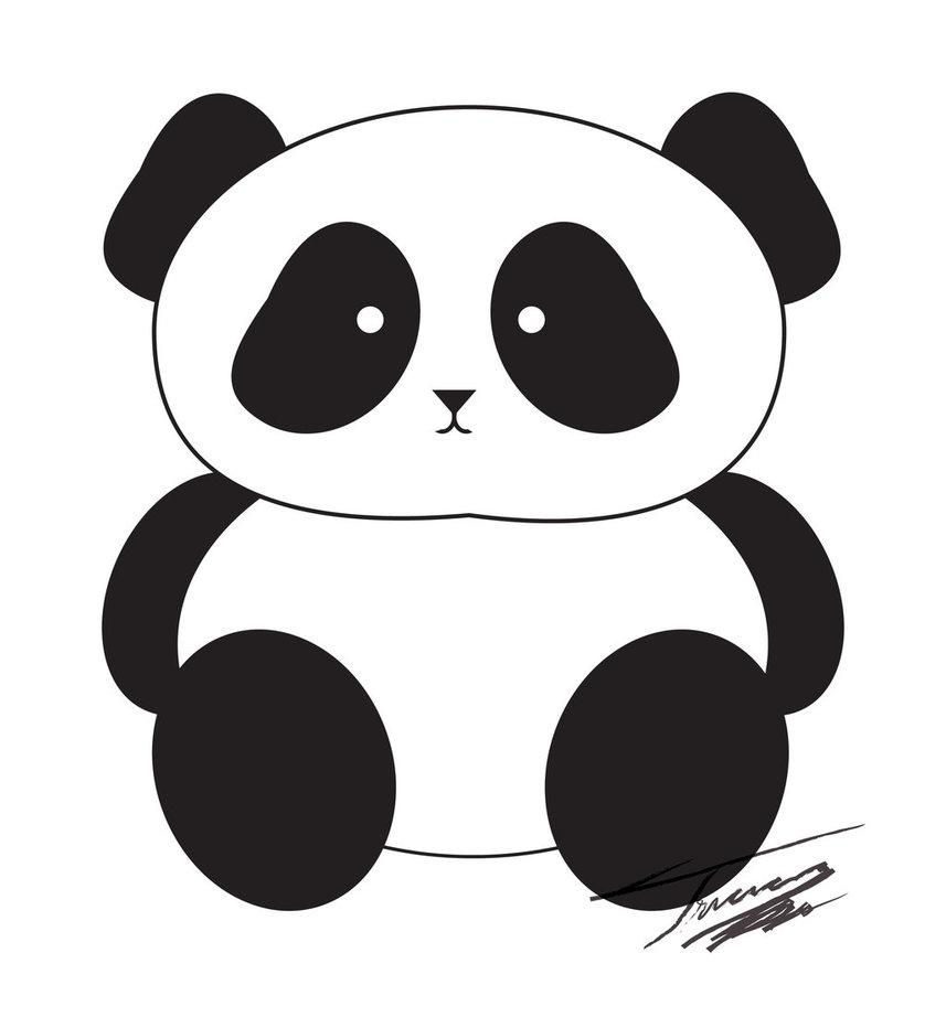 Panda clipart #3, Download drawings