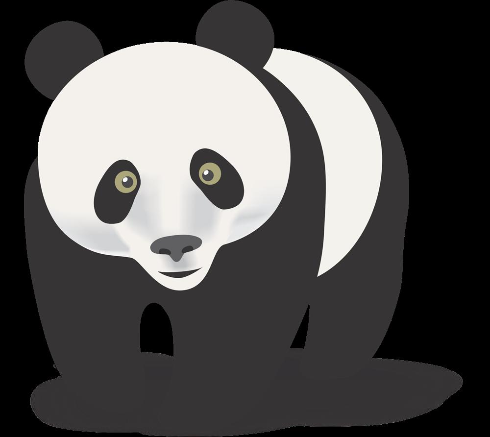 Panda clipart #12, Download drawings