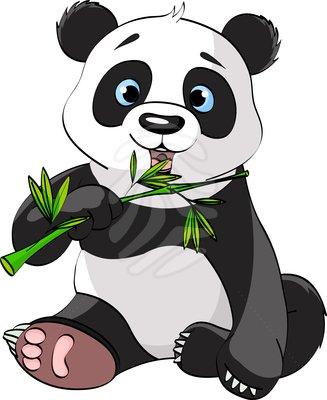Panda clipart #9, Download drawings