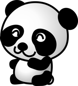 Panda clipart #5, Download drawings