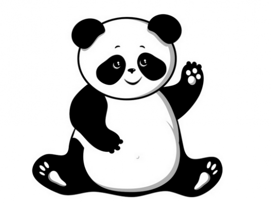 Panda clipart #13, Download drawings