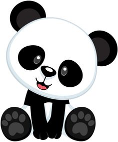 Panda clipart #3, Download drawings