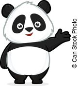 Panda clipart #2, Download drawings