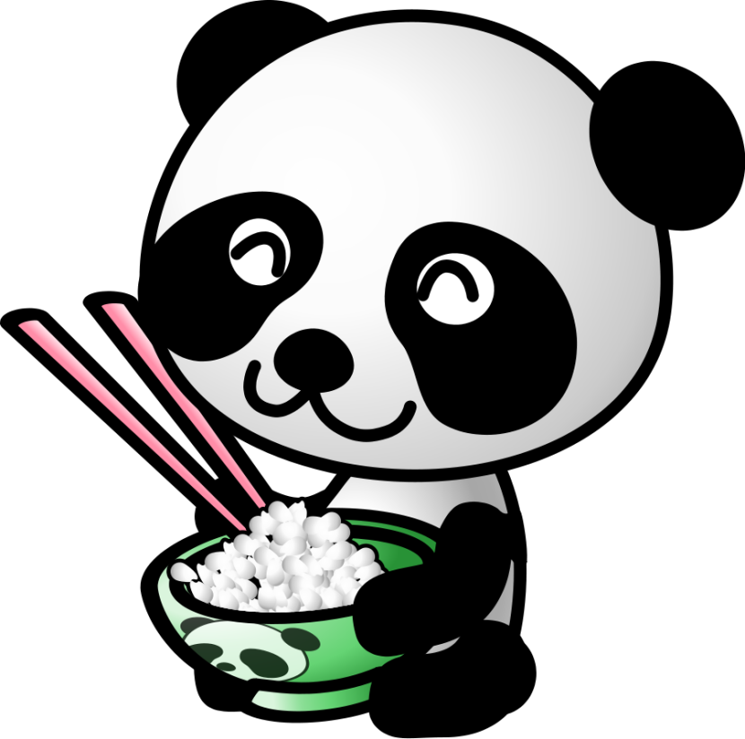 Panda clipart #7, Download drawings