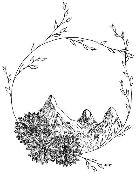 Pandora Mountains coloring #11, Download drawings