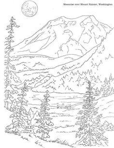 Pandora Mountains coloring #12, Download drawings