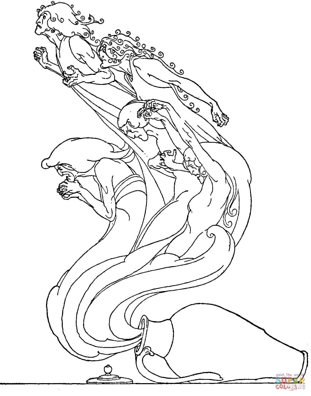 Pandora Mountains coloring #2, Download drawings