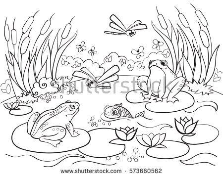 Pantanal coloring #10, Download drawings