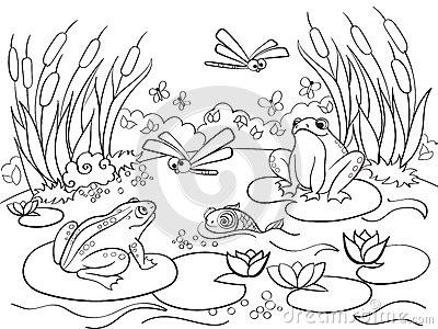 Pantanal coloring #11, Download drawings
