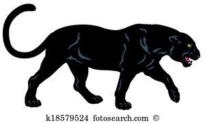 Panther clipart #10, Download drawings