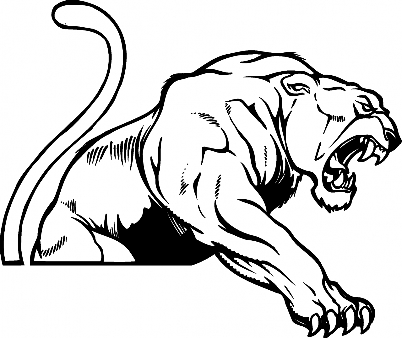 Panther clipart #16, Download drawings