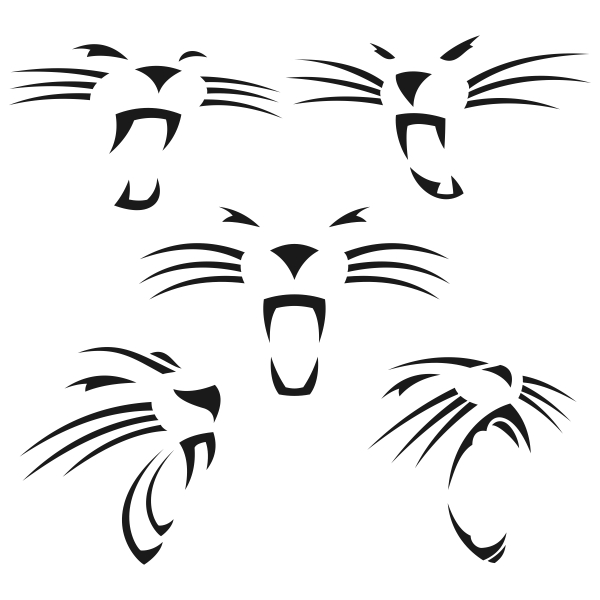 Panther svg #2, Download drawings