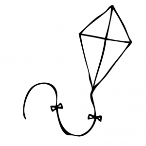 Paper Kite clipart #2, Download drawings