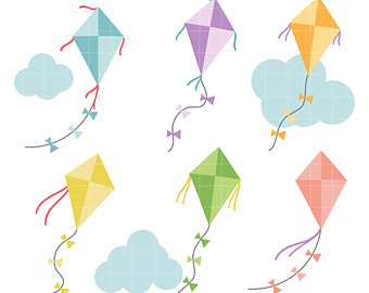 Paper Kite clipart #6, Download drawings