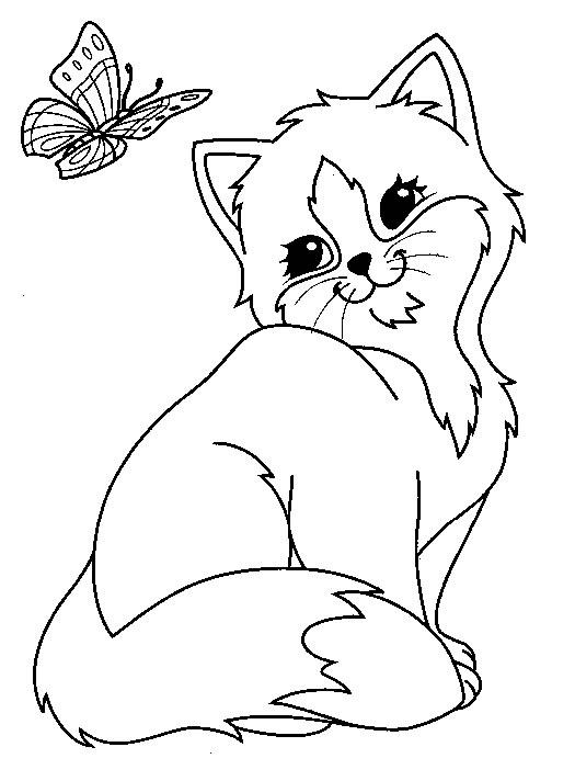 Papillon coloring #8, Download drawings