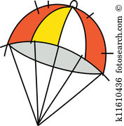 Parachute clipart #13, Download drawings
