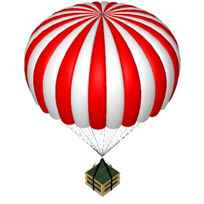 Parachute clipart #14, Download drawings