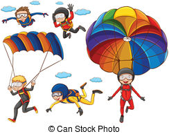 Parachute clipart #10, Download drawings