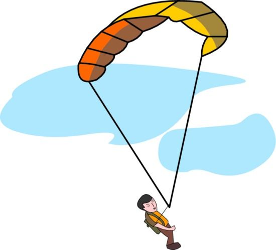 Parachute clipart #18, Download drawings