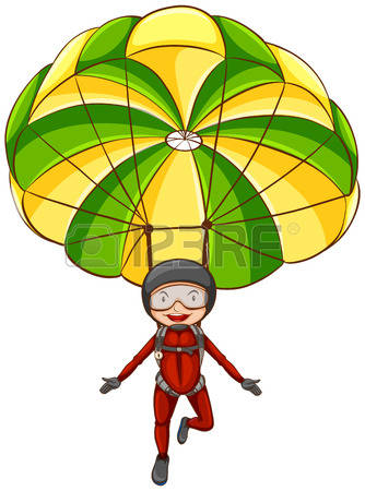 Parachute clipart #7, Download drawings