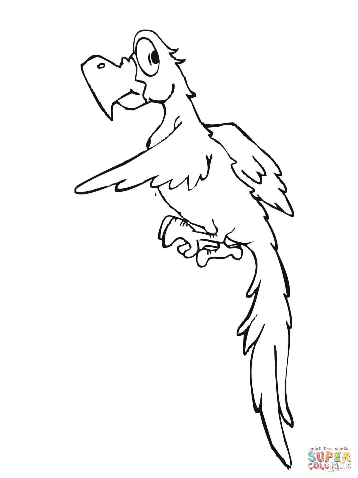 Parakeet coloring #20, Download drawings