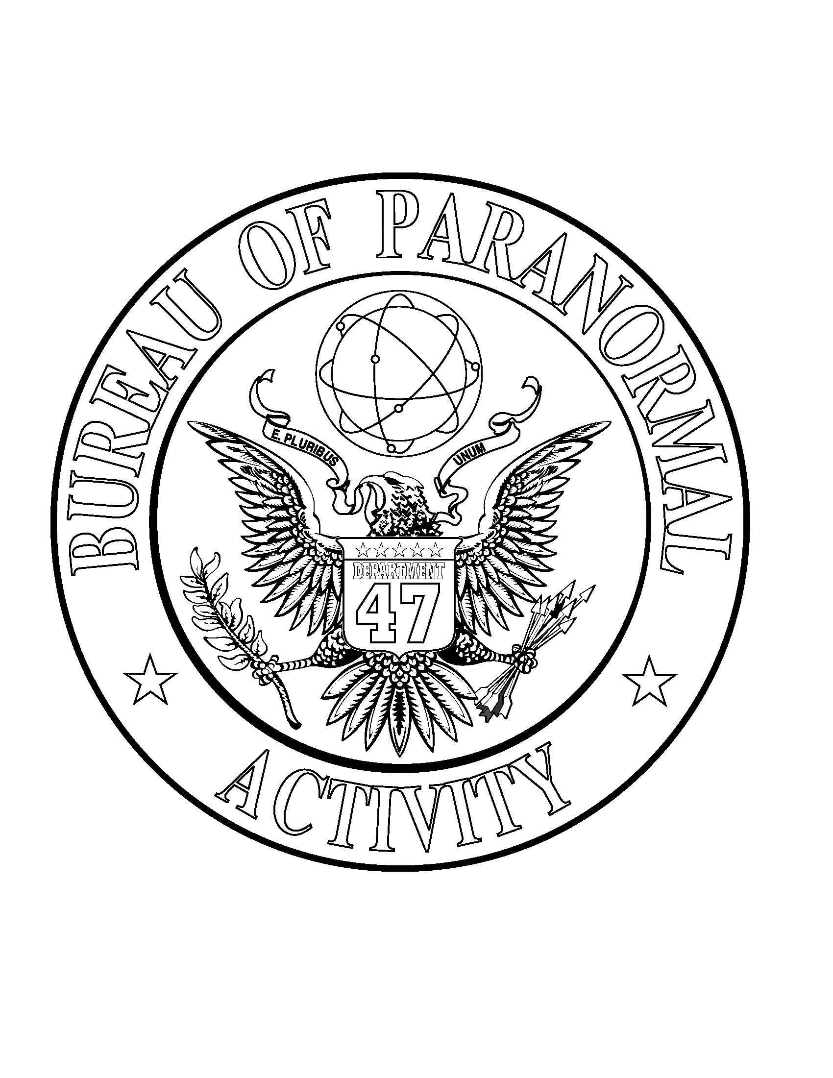 Paranormal coloring #2, Download drawings